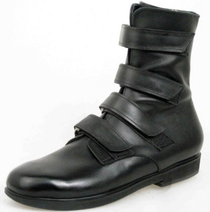 4 velcro strap ankle boots