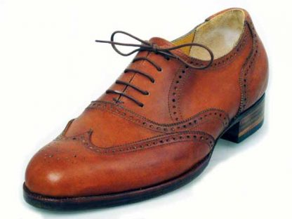 Full Oxford brogue antiqued