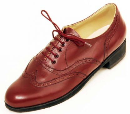 Full Oxford no pattern eyelets rubber heel