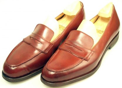 Penny loafers with trees pair