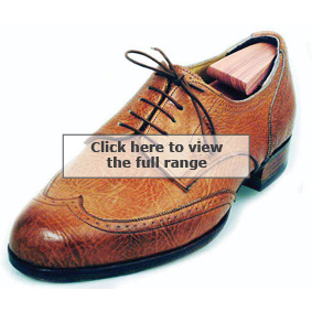 Bill Bird Shoes Derbys with fine brogued wing caps