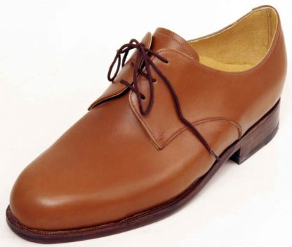 3 hole tan Derbys