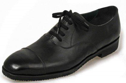 Austere Oxford straight caps black