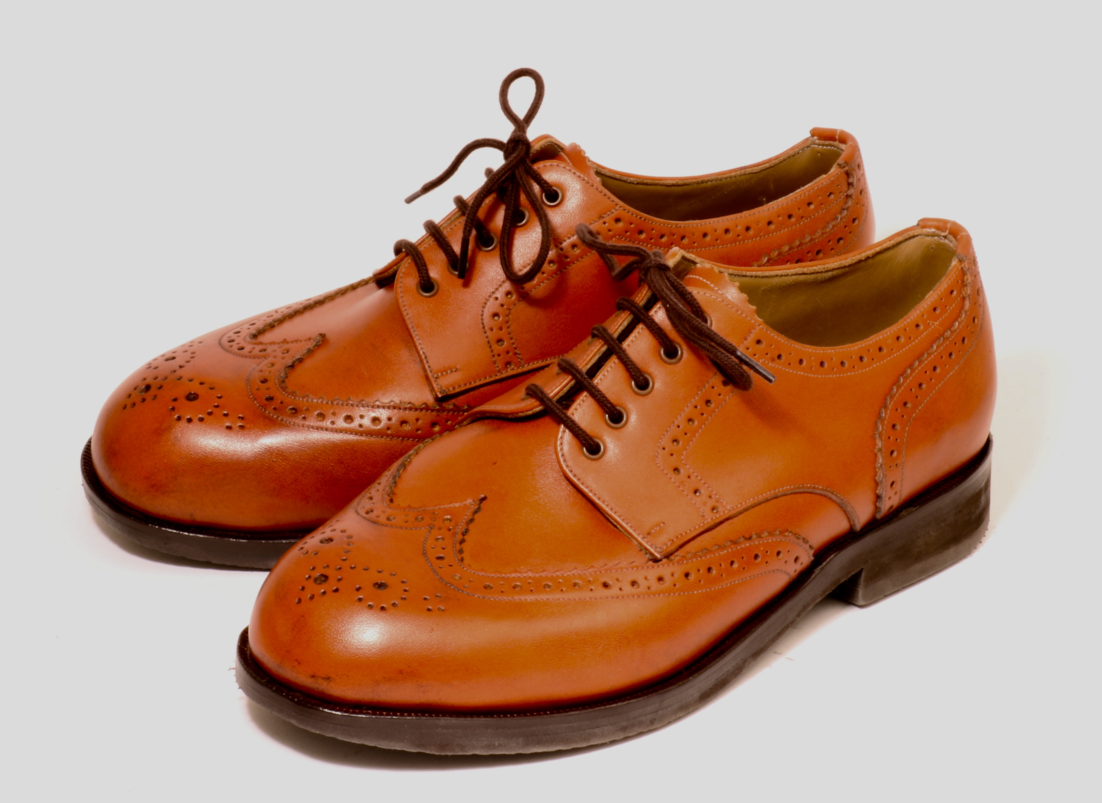 Derby Brogues for very wide forefoot and bunions pair