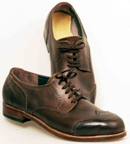 Derby Brogues with Austrian wing caps