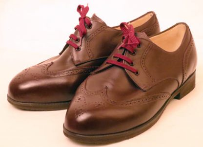 Derby brogues for bunions & retracted toes