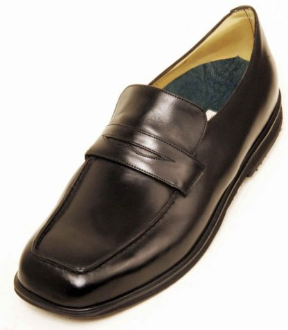 Elastic on Instep Penny Loafers