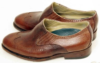 Elastic sided slip on shoes reindeer