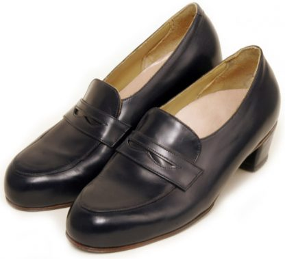 Penny Loafers with laid on apron