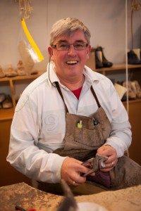 Bill Bird shoemaker Russell