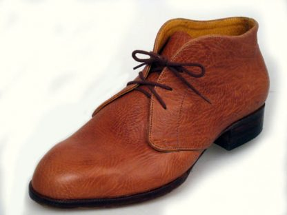 tan grain calf made to measure boots