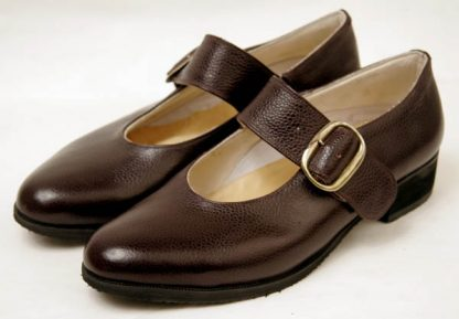 bespoke side buckle shoes