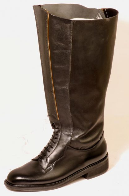Womens boots from Bill Bird Shoes for lymphedema and lipodema leading to very swollen legs and feet