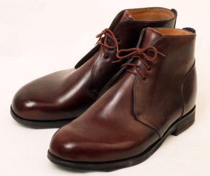 Derby Ankle Boots for Haglan's Heel Bump