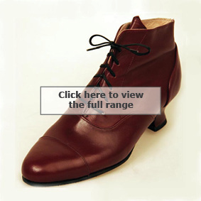 Bespoke lace up boot from Bill Bird Shoes in the Midlands